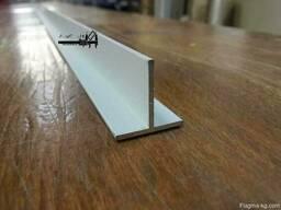 Алюминиевый тавр 15x15x2 мм АД31Т5 ГОСТ 8617-81 - фото 1