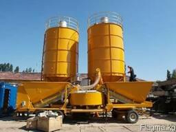 Б/У Мобильный бетонный завод Fibo M-22 ( 60 м3/ч, 2002 г.)