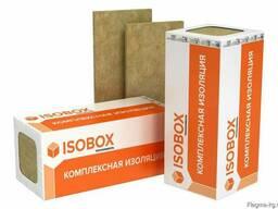 Базальтовый утеплитель isobox - 35,45,50,80,120 - плотности