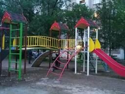 Детские площадки, уличные тренажеры, качели, карусели, горки