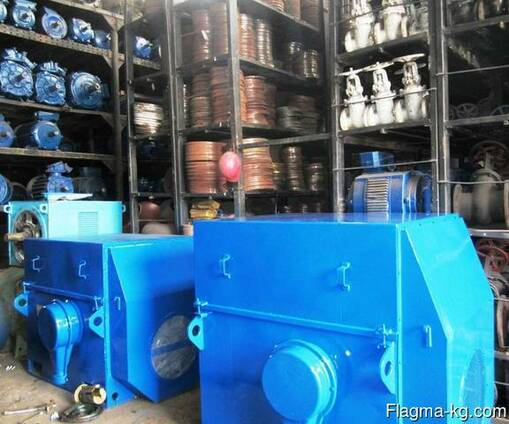 Электродвигатели 125 кВт - 3150 кВт, в наличии