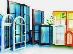 Метало-пластиковые окна (ПВХ)