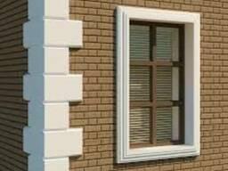 Молдинг Откос окна = Цельный элемент!Теплый Фасад Михаилов