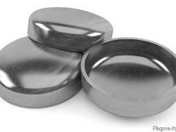 Нержавеющие эллиптические заглушки 42.4x3 мм AISI 304 DIN 26