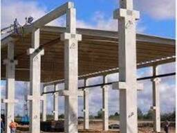 Оборудование для производства бетонных колонн большой длины.