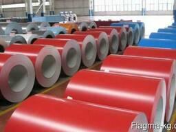 Оцинкованная рулонная сталь с полимерным покрытием 0,25мм