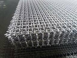 Рифленая нержавеющая сетка 5x5x1.2 мм 12Х18Н10Т ГОСТ 3826-82
