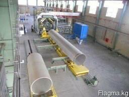 Трубы GRP DN-450мм/PN-10атм/SN-10000 Н/м2