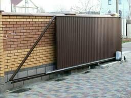 Установка и продажа секционных ворот
