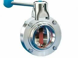 Затвор дисковый из нержавеющей стали (AISI 304)