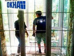 пластиковые и алюминиевые окна ,двери витражи