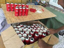 Баллончики аэрозольные для наполнение жидкости