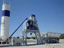Полу-Мобильный бетонный завод F-130 (130 м3/ч) Швеция