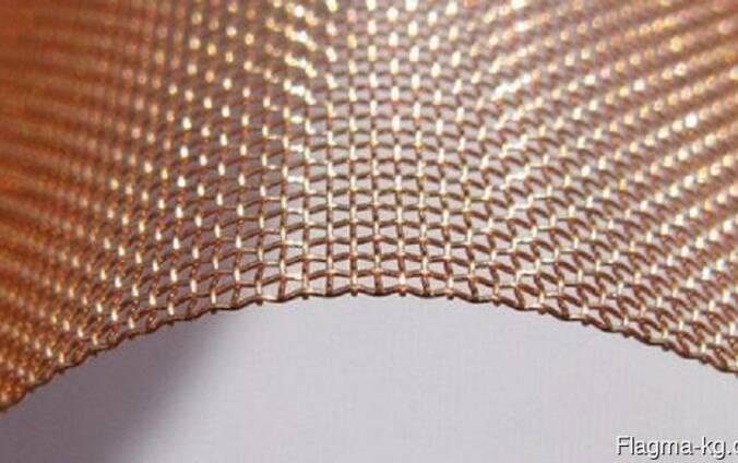 Бронзовая сетка 0.63x0.3x45.9 мм БрОФ6.5-0.4 ГОСТ 6613-86