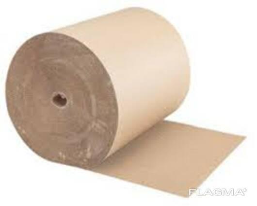 Бумага для гофрирования, картон для плоских слоев гофрирован
