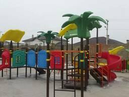 Детские площадки, уличные тренажеры, качели, карусели, горки - фото 2