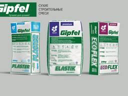 GIPFEL premium - Сухие строительные смеси от завода изготовителя