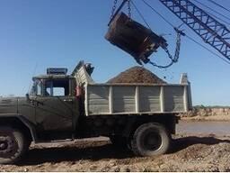 Доставка песка, щебень, отсева, глины, гравий в Бишкеке.