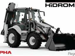 Hidromek102B экскаватор погрузчик