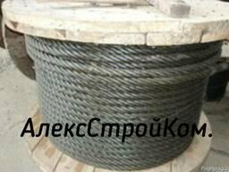 Канат стальной 11, 5 ГОСТ 3079-80 оцинкованный С