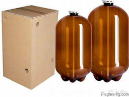 Квас в бутылках и одноразовых ПЭТ-кегах