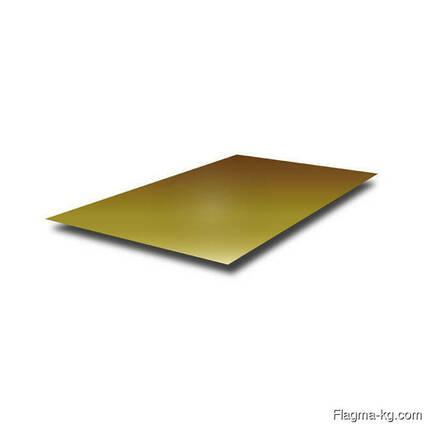 Латунные пластины 4 мм ЛМц58-2 ГОСТ 2208-2007