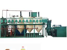 Линия производства, рафинации экстракции растительного масла