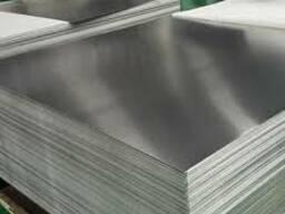 Лист алюминиевый АМГ2м 2,0х1500х3000 с перестилом сух. бумаг