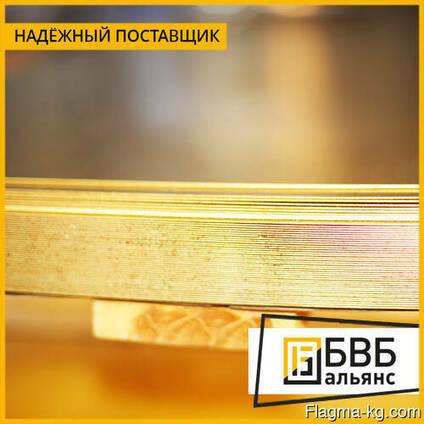 Лист бронзовый от 0,5 до 300 мм