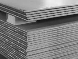 Лист стальной горячекатаный 55х1500х6000 ст 09Г2С
