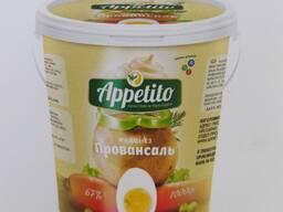 "Майонез ""Appetito"" высококалорийный с мдж 67% 800гр"