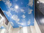 Натяжной потолок небо с облаками в Бишкеке - фото 1
