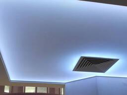 Натяжные потолки с подсветкой в Бишкеке