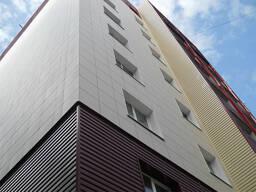 Навесной вентилируемый фасад облицовка Керамогранит