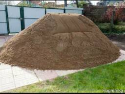 Отсев песок щебень гравий глина смесь, Зил доставка