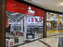 Перегородки для торговых центров, бутиков и магазинов