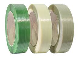 ПЭТ лента (упаковочная лента, полиэстровая лента)