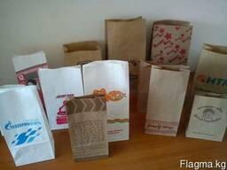 Пищевые крафт пакеты (фаст фуд) - фото 1