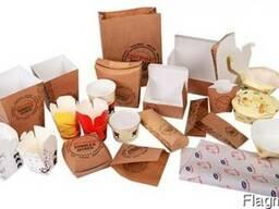 Пищевые крафт пакеты (фаст фуд) - фото 3