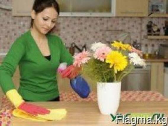 Приходящая помощница-домработница.