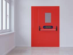 Противопожарные Двери / Двери экстренного выхода со створкой