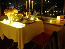 Романтическое свидание на крыше в Бишкеке!️