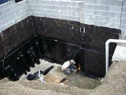 Рулонная гидроизоляция для пола, фундамента, бассейна