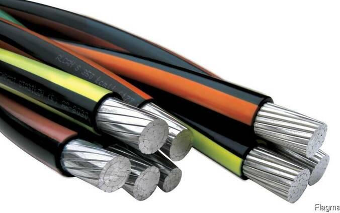 Силовой кабель 1x2.5 мм АВВГ ГОСТ 16442-80
