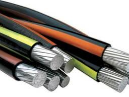 Силовой кабель 1x2.5 мм АВВГ ГОСТ 16442-80 - фото 1