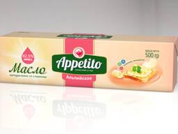 Спред растительно-сливочный Appetito с мдж 82,5% 500гр